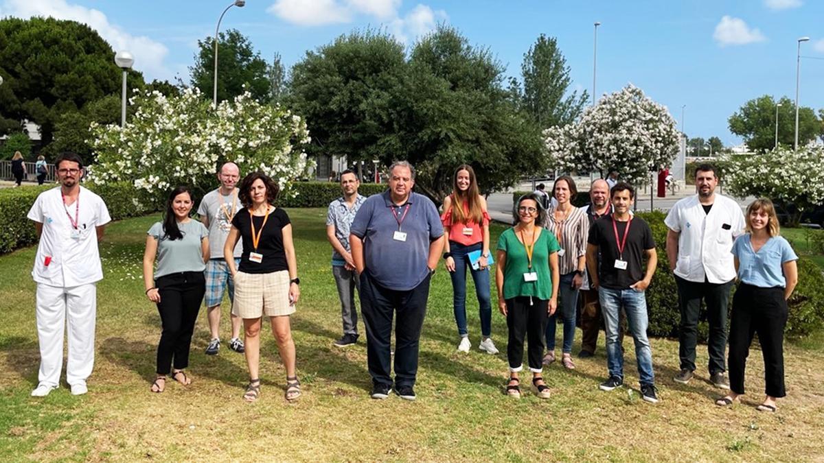 Fotografia dels investigadors que han realitzat l'estudi.