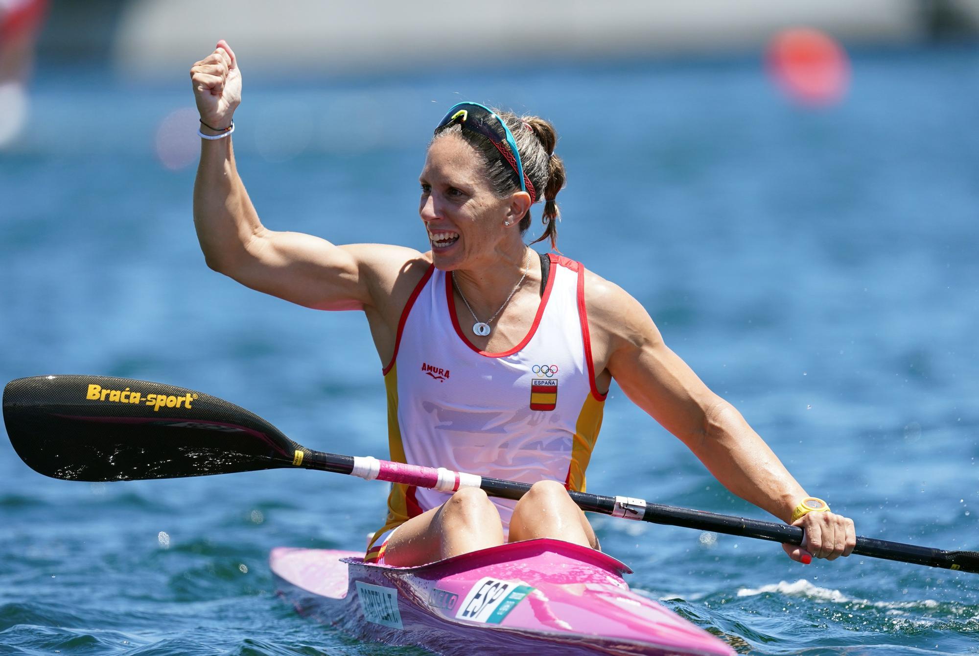 Teresa Portela, tras lograr su plata olímpica en Tokio