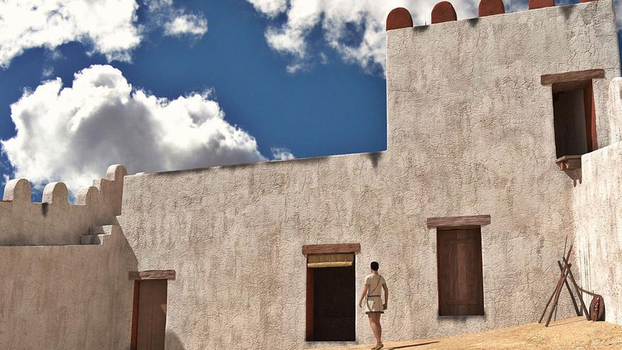 La UA plantea acabar la excavación del valioso fortín ibero destruido parcialmente en El Campello