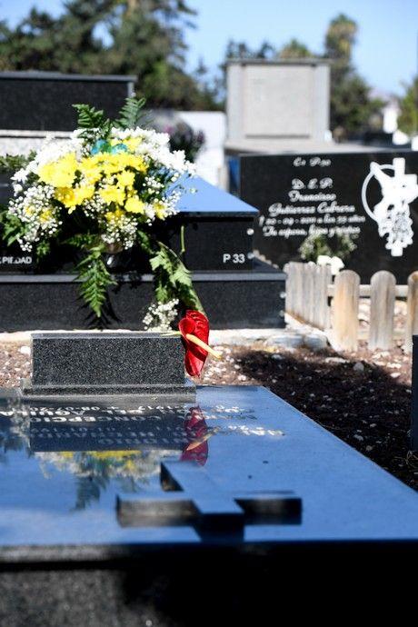 31 de octubre en el cementerio de San Lázaro
