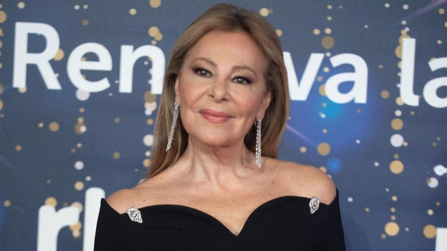 La espectacular reaparición de Ana Obregón