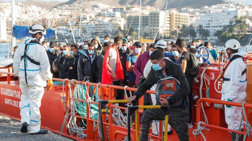 La UE concede 43 millones a España por la oleada migratoria en Canarias