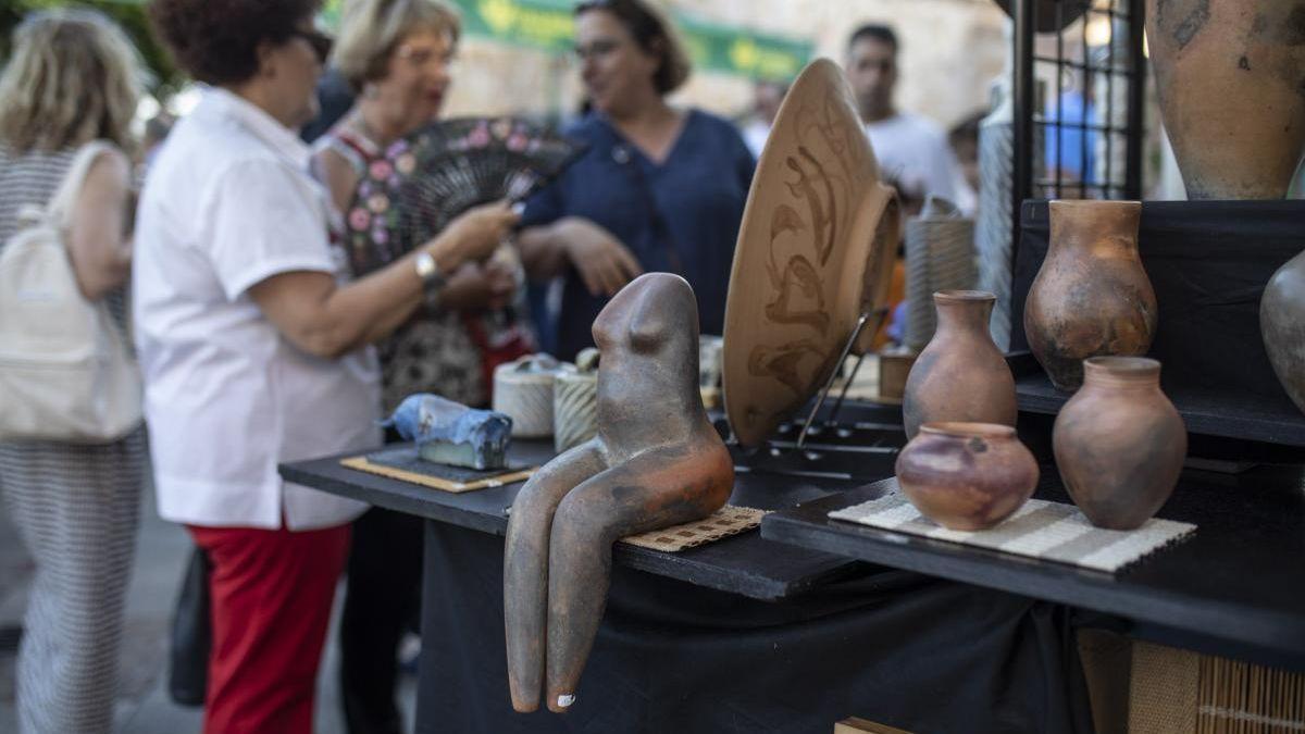 Feria de la Cerámica en Zamora.