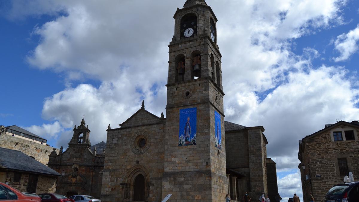 Iglesia de Santa María de Azogue, de Puebla