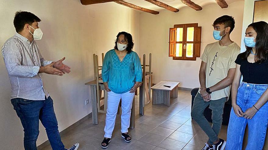 Estudiantes Abierta la residencia municipal