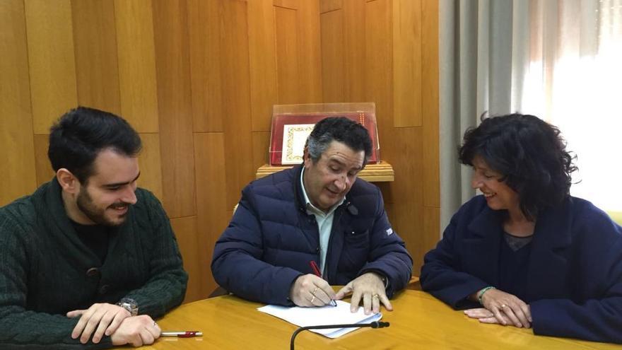 El Equipo de Gobierno de PSOE y Compromís llega a un acuerdo con el grupo municipal Sí Se Puede