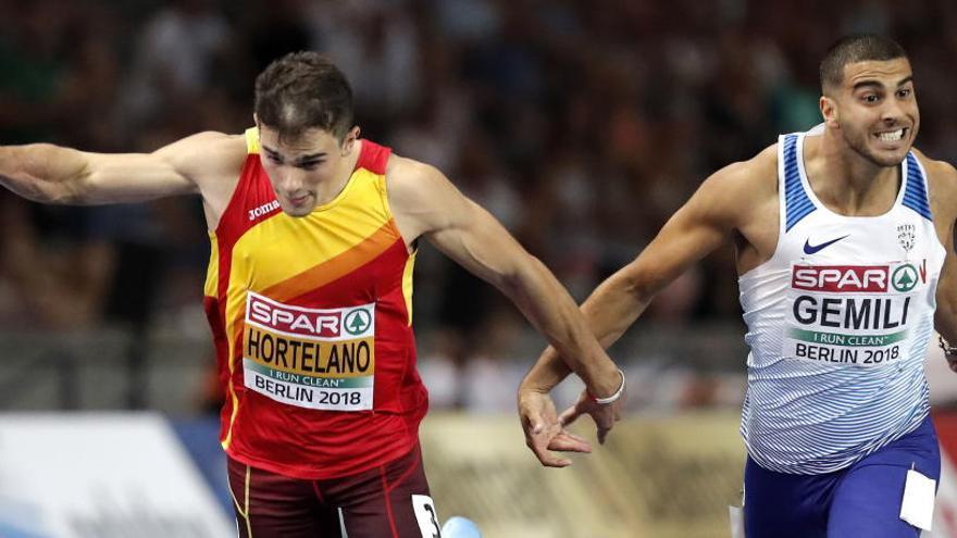 Hortelano, a las puertas de la medalla en los 200