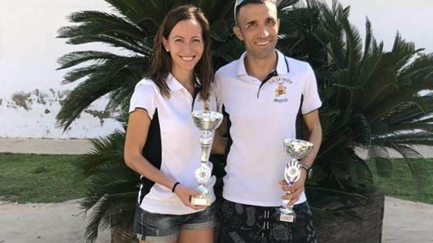 Badenes y Sarrión se imponen en las carreras populares  de Novetlè y Llanera de Ranes