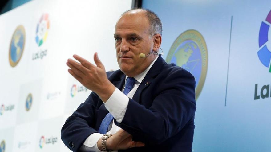 """Tebas: """"El fútbol español tiene un exceso de gasto de unos 500 millones de euros"""""""