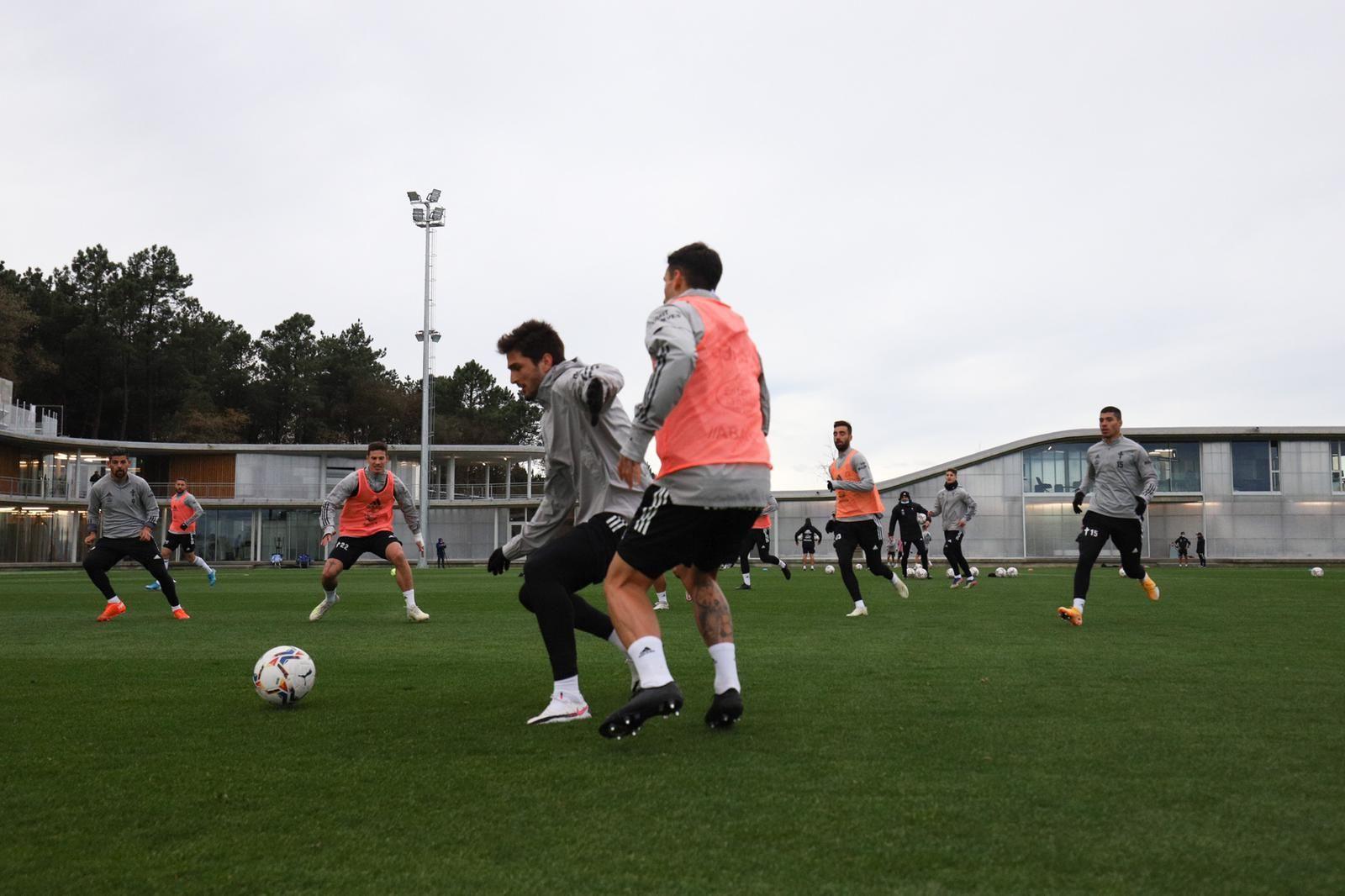 El Celta se estrena en la Cidade Deportiva Afouteza