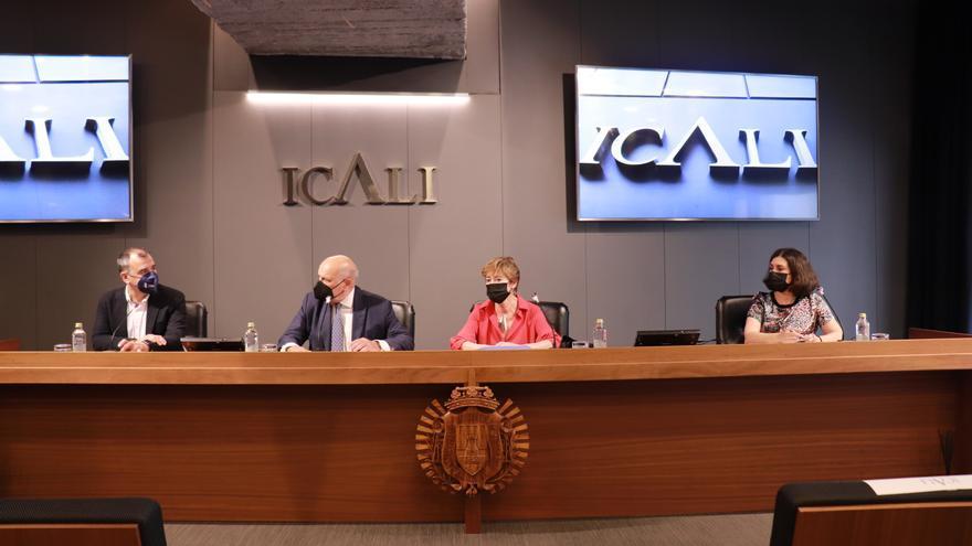 El papel de la abogacía en la transición, en pantalla grande en la sede del Icali