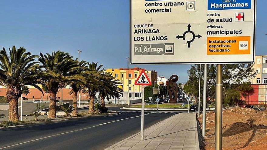 Casa Pastores y Cruce de Sardina quedan conectados por una vía peatonal