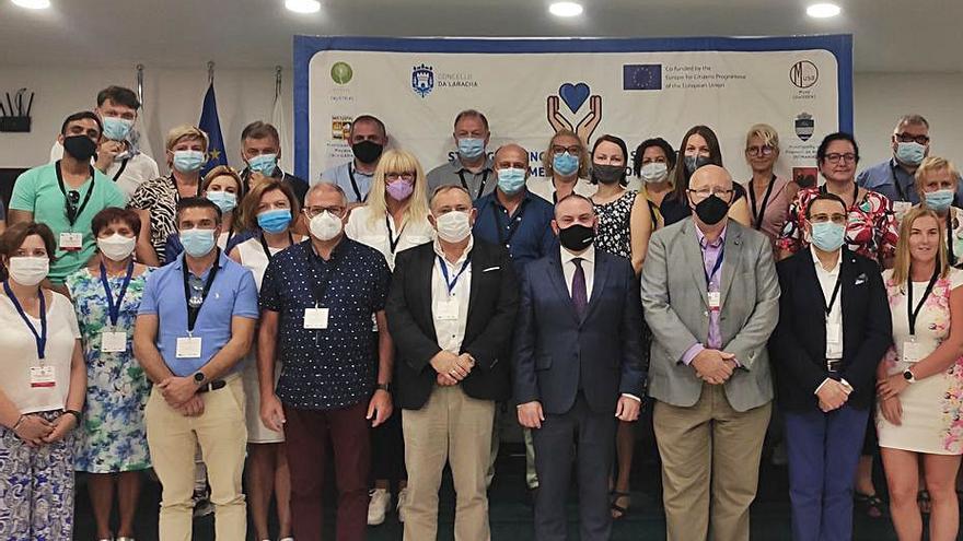 A Laracha participa en Malta en un proyecto de la crisis migratoria
