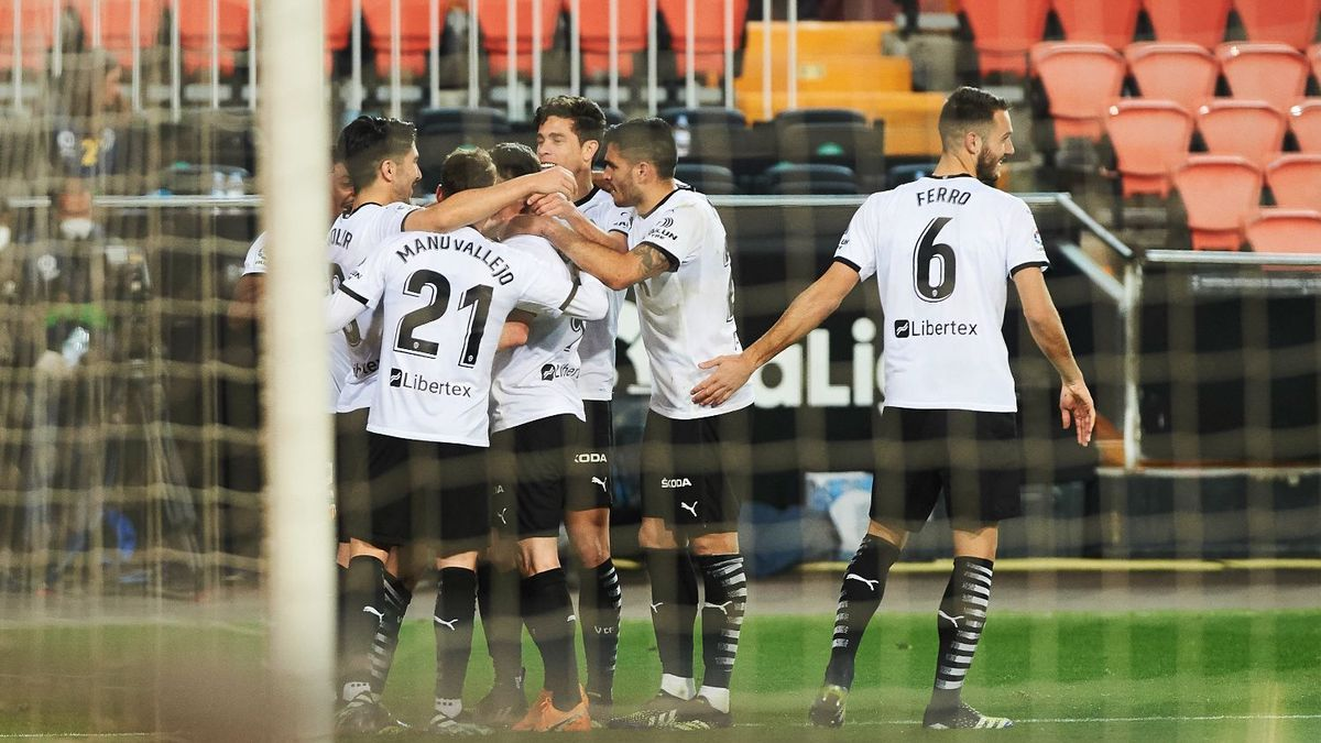 Las mejores imágenes del Valencia - Celta