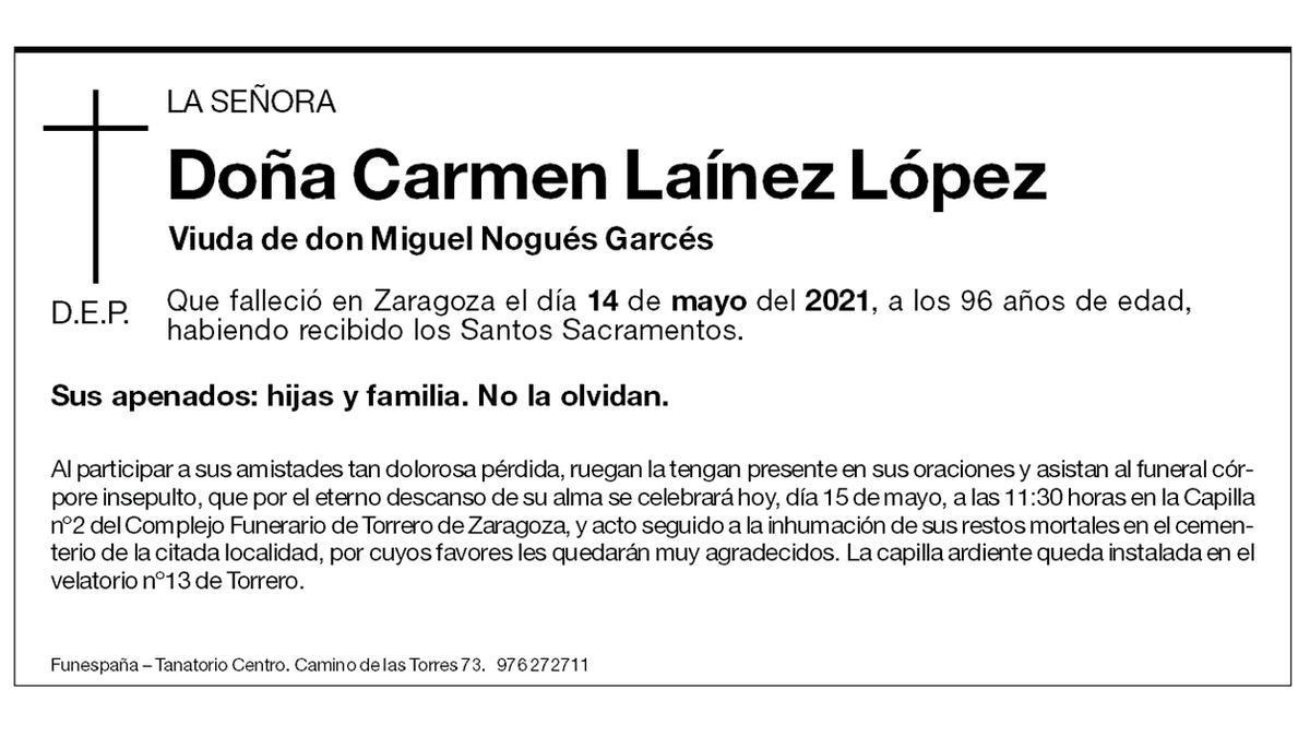 Carmen Laínez López