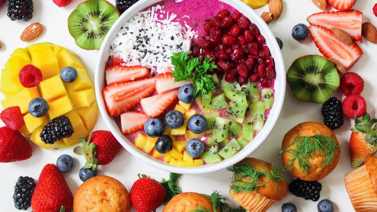 plato comida sana