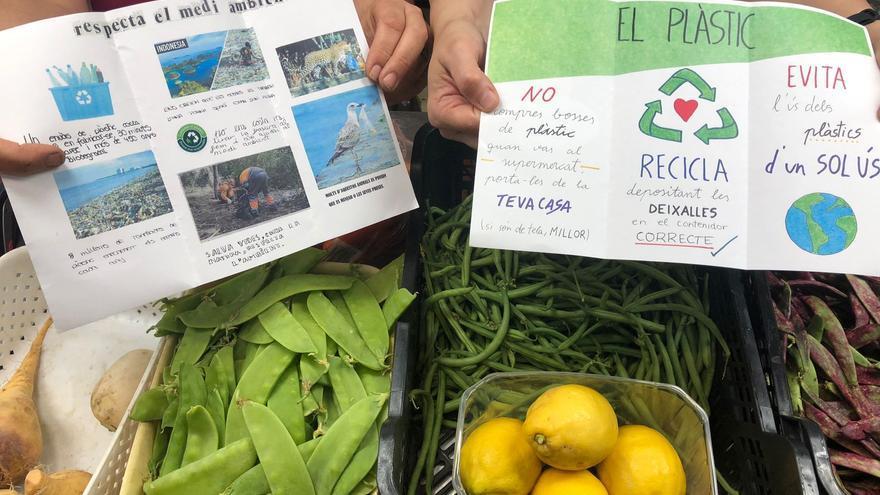 L'IES Almenara desenvolupa el projecte 'Vida sense plàstic'