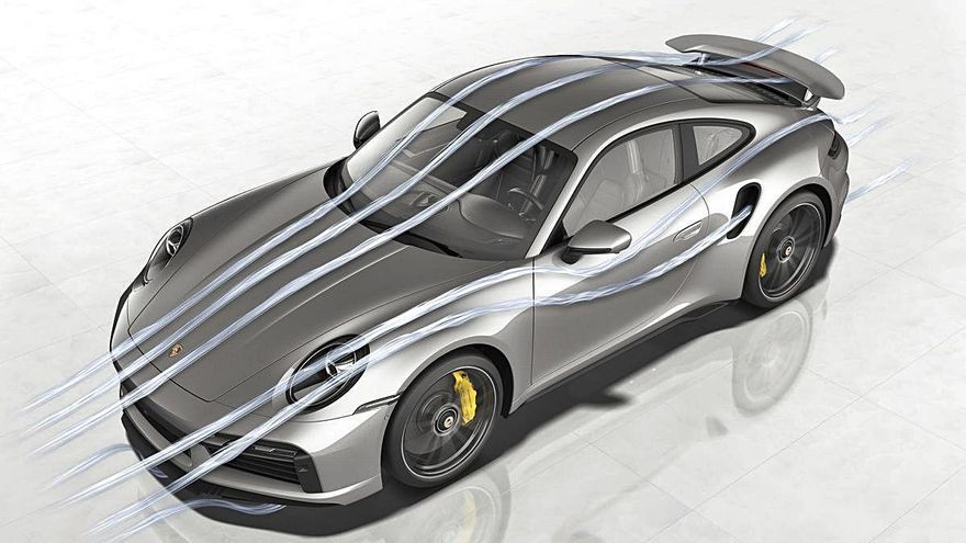 Porsche 911 Turbo S: La aerodinámica perfecta