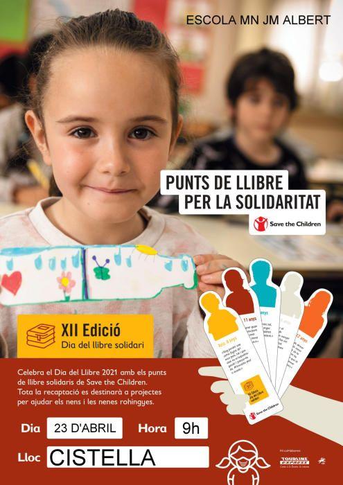 Els infants de Cistella col·laboren amb Save The C