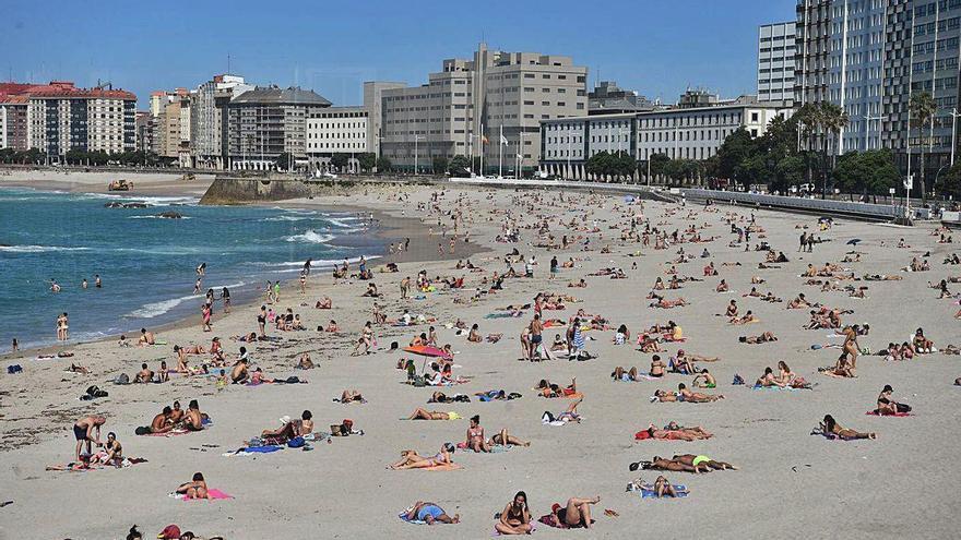 La ola de calor en Galicia remite hoy tras superar el termómetro los 40 grados