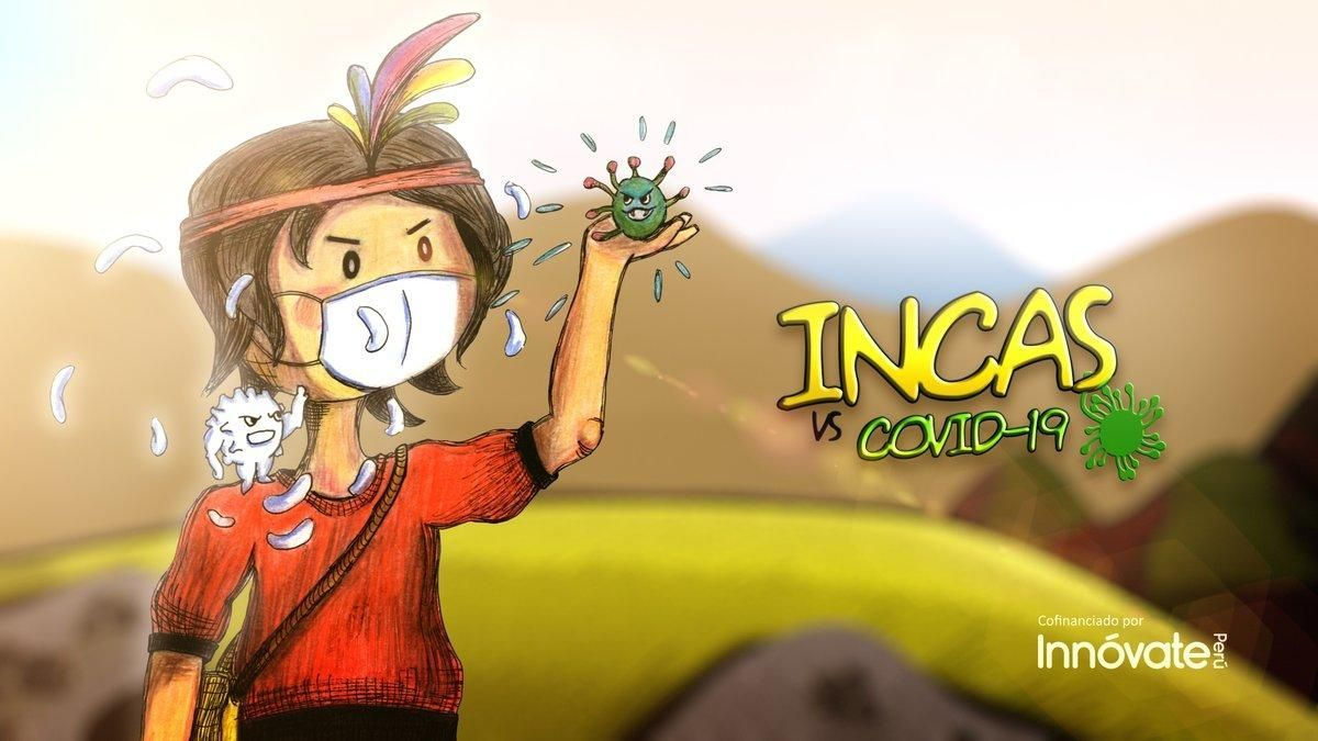 Incas vs. Covid-19: La propuesta animada contra el coronavirus en Perú