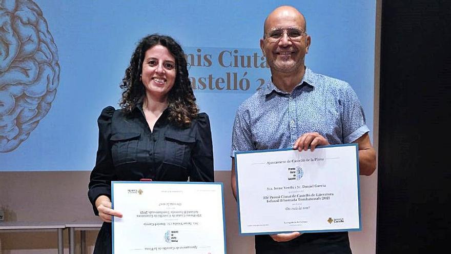 Irene Verdú i Daniel García guanyen el Premi Ciutat de Castelló de literatura infantil