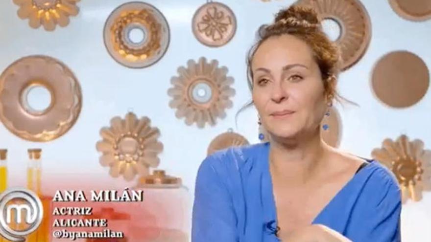 Ana Milán se despide de 'MasterChef' con un tuit que está causando revuelo