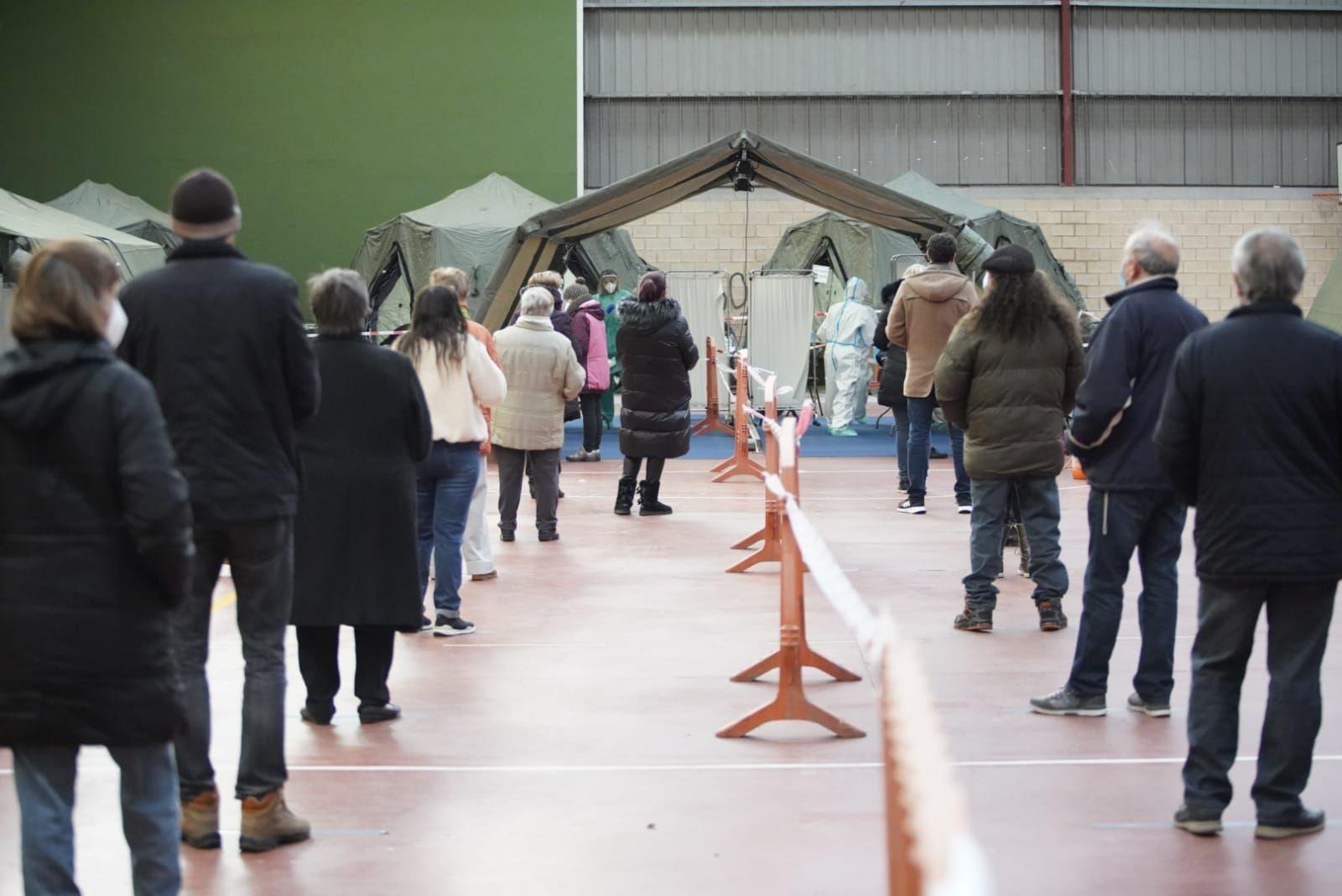 GALERÍA | Así se produce el cribado masivo de Zamora Norte en Monfarracinos