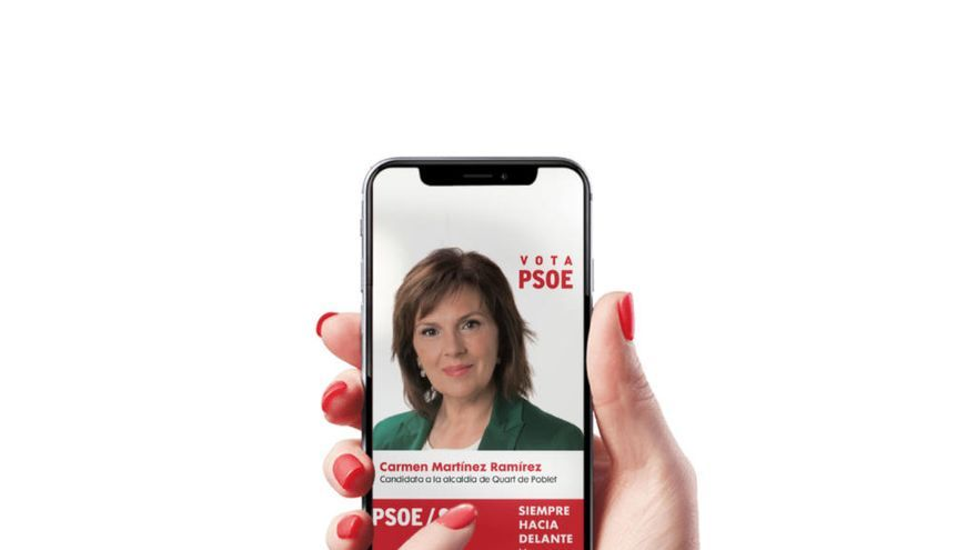 Carmen Martínez lanza su APP de candidata