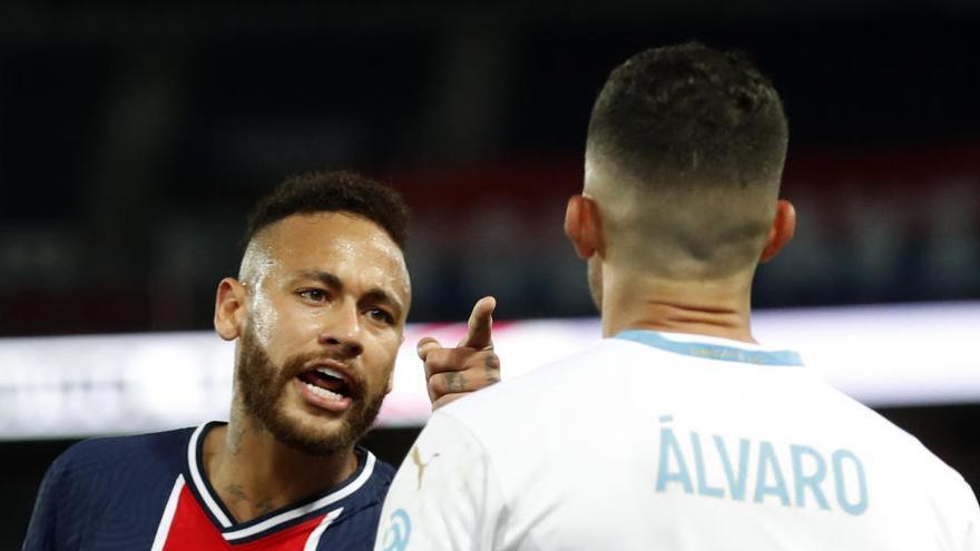 Cinco expulsados, incluido Neymar, en la derrota del PSG