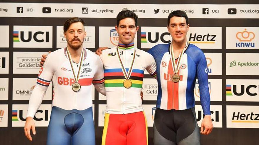 Alfonso Cabello busca su sexto título mundial del kilómetro
