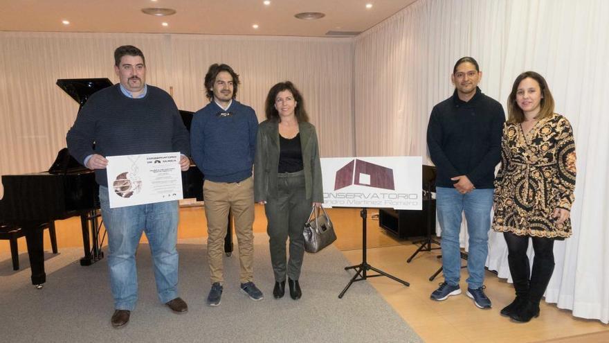 El Conservatorio de Caravaca se prepara para conmemorar Santa Cecilia