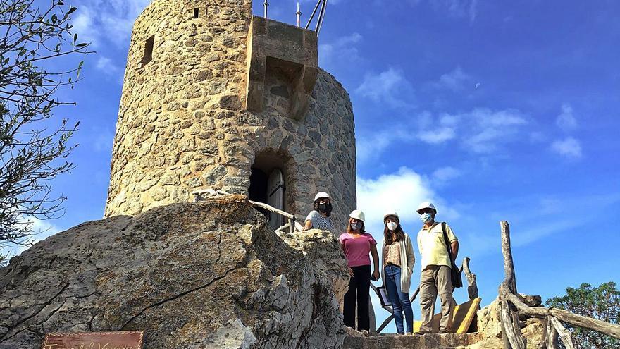 La Torre des Verger, un imponente mirador de la Serra, reabrirá en 2021
