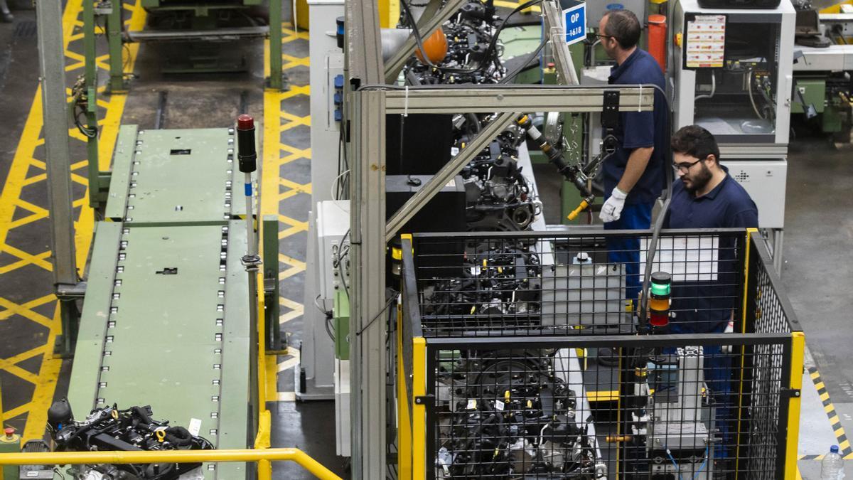 Planta de producción de Ford Almussafes