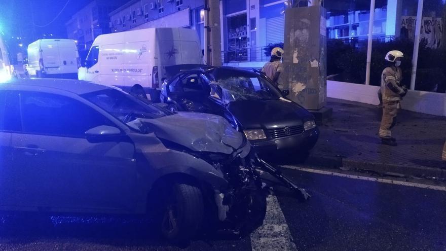 Un matrimonio fallece en un accidente en la avenida de Fisterra esta Nochebuena
