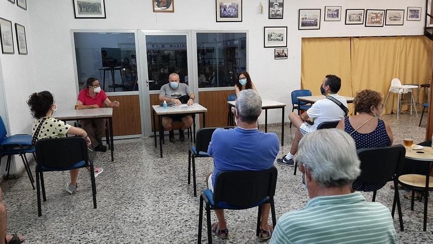 El PSOE reclama que se recuperen las bóvedas y la escuela del Raval Roig