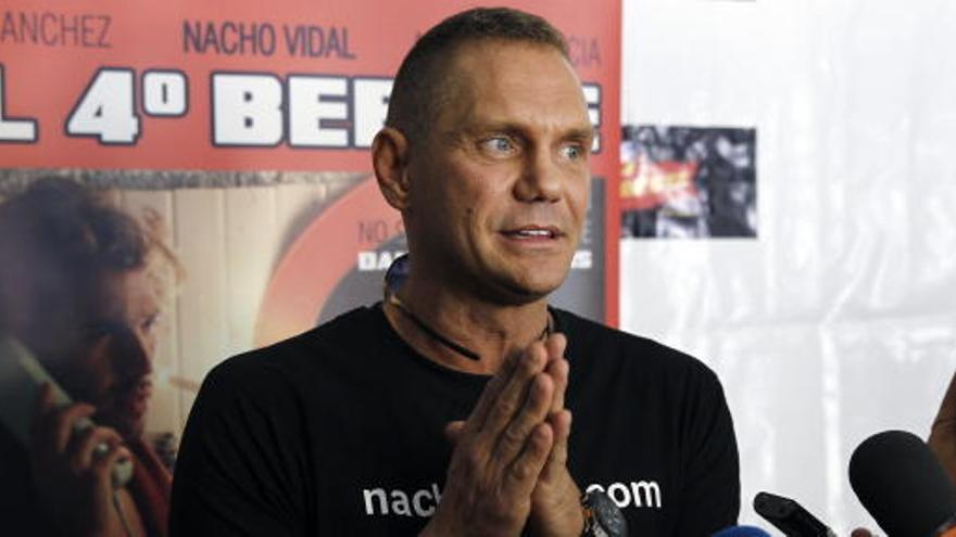 Nacho Vidal  se ve 'crucificado' por ser el personaje más fácil