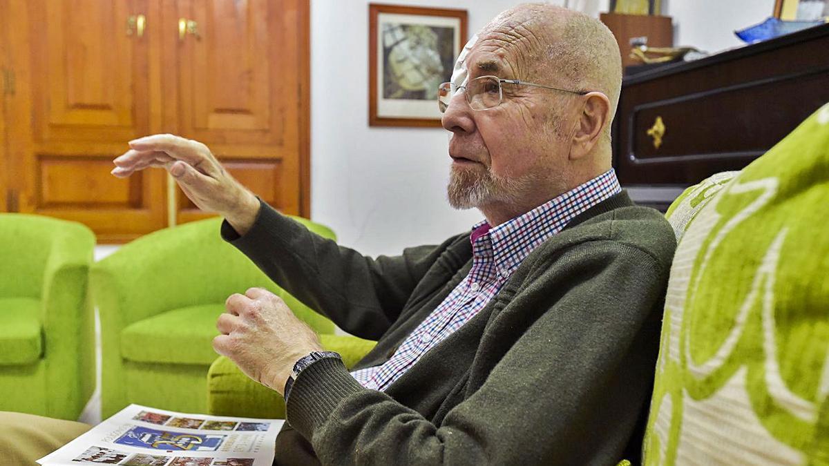 Simón Pérez, recientemente fallecido, que será homenajeado en las Fiestas de La Luz.