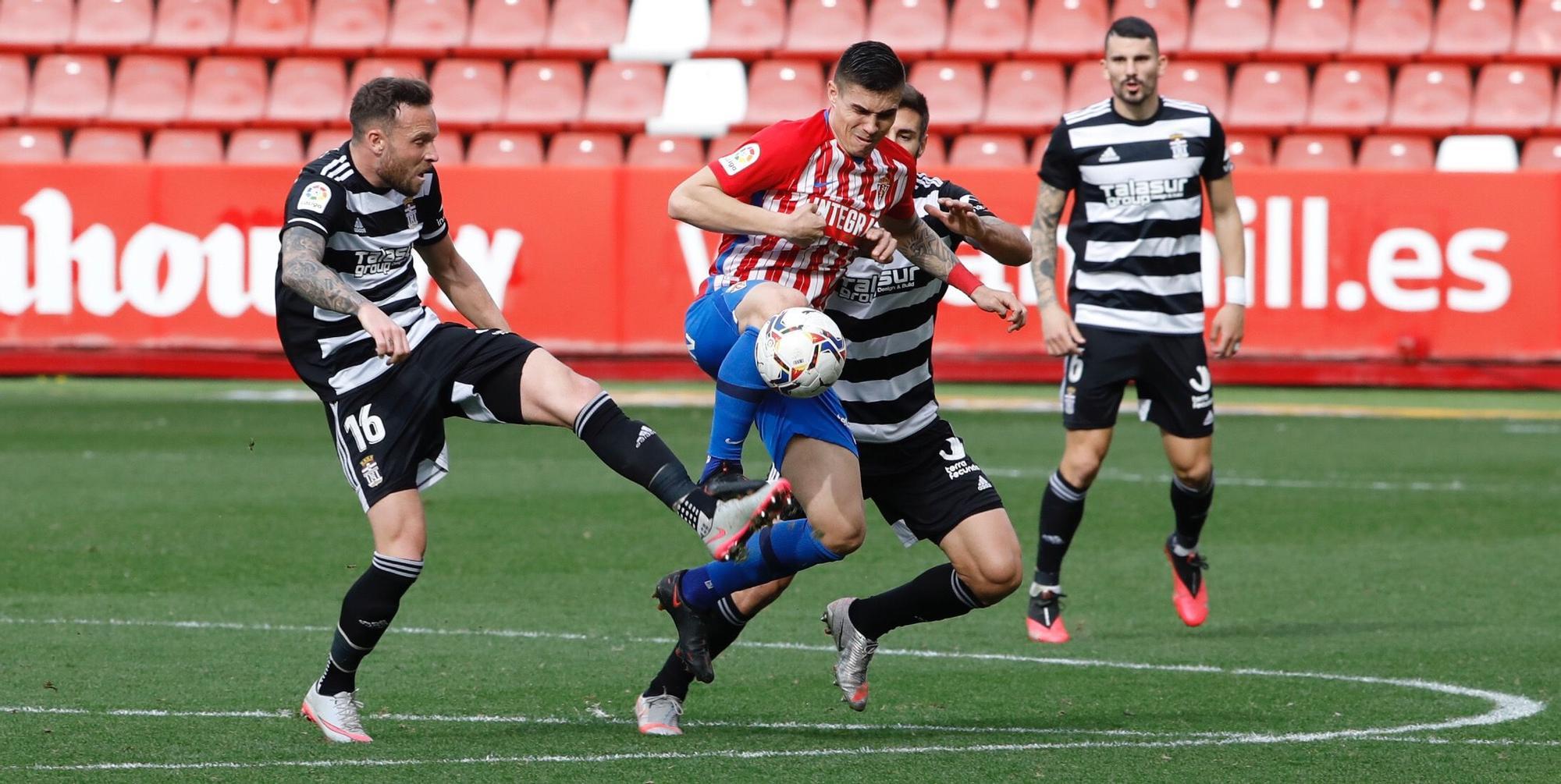 Sporting - Cartagena, en imágenes