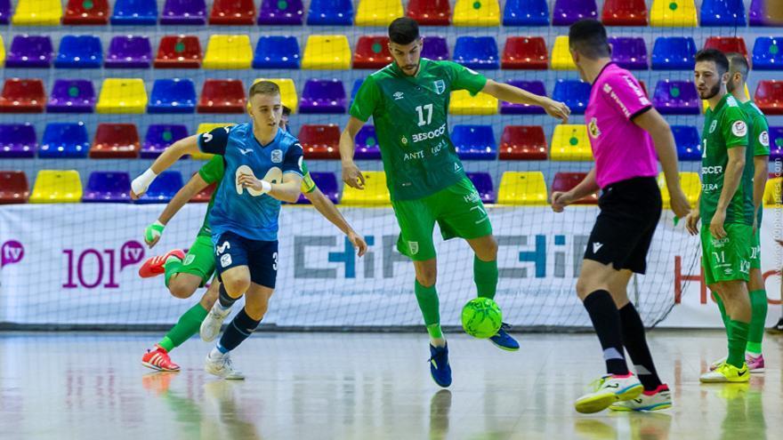 El UMA Antequera se reencuentra con la victoria ante Movistar Inter FS (2-1)