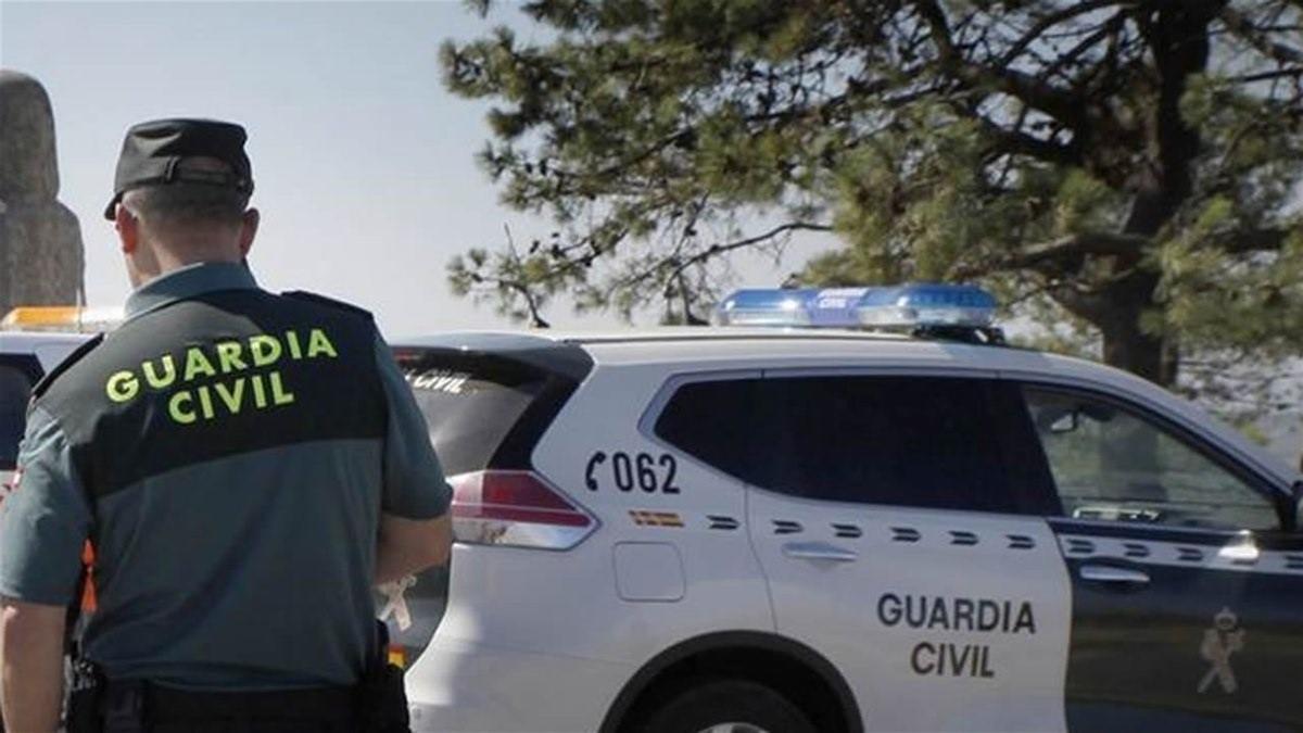 Una imagen de archivo de un agente de la Guardia Civil.