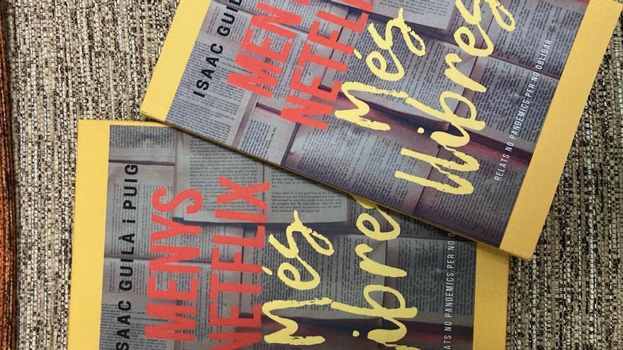 El navassenc Isaac Guilà reapareix en el panorama literari amb «Menys Netflix i més llibres»
