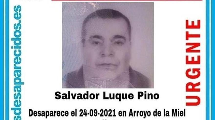 Buscan a un hombre desaparecido en Arroyo de la Miel