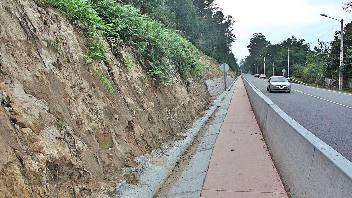 La senda en su tramo de Bagüín.  |  // SANTOS ÁLVAREZ