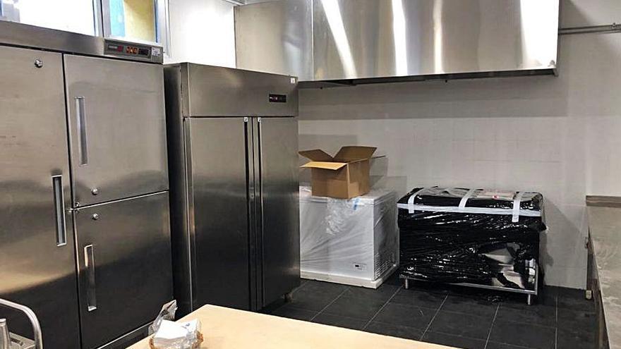 El colegio Cervantes de Gandia ya puede cocinar sus propios menús