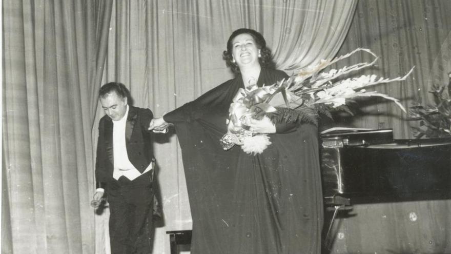 La petjada de Montserrat Caballé a la Catalunya Central