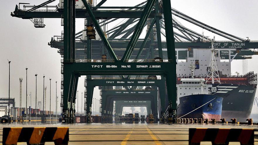 China adelanta a EE UU y vuelve a liderar el tráfico exterior del Puerto de València en 2021