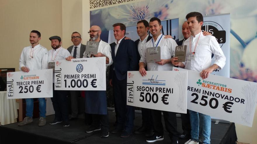 Un restaurante de Madrid gana el primer certamen nacional del ajo tierno de Xàtiva