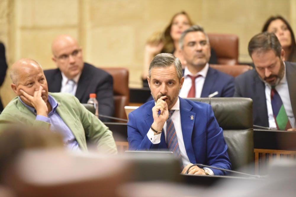 Las imágenes del debate de los presupuestos andaluces para 2019