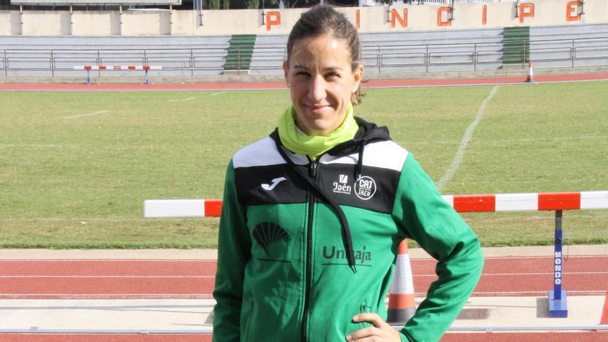 Natalia Romero se entrena habitualmente en la pista del Príncipes de España